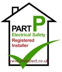 Comply with Part P of the building regulations