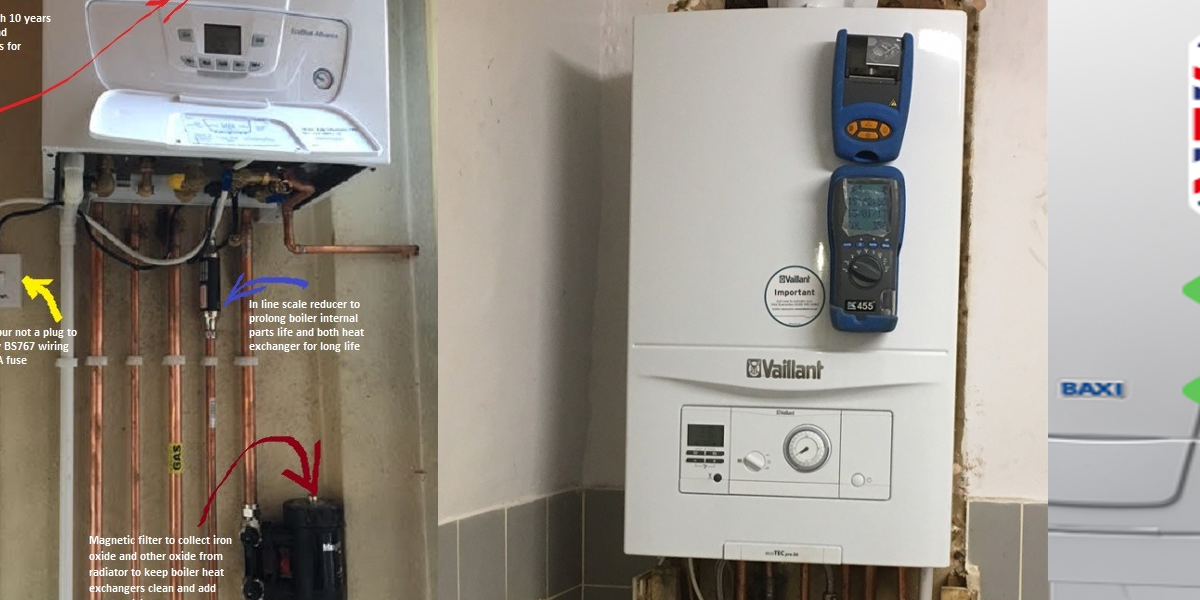 OHM boiler installation, repair and maintenance services london