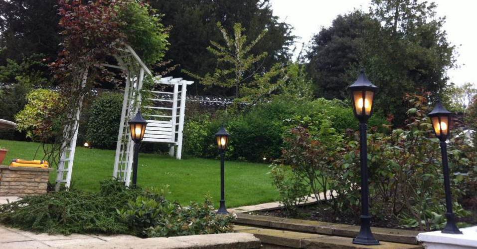 Residential Garden Light by Ohm Electricals Wembley London