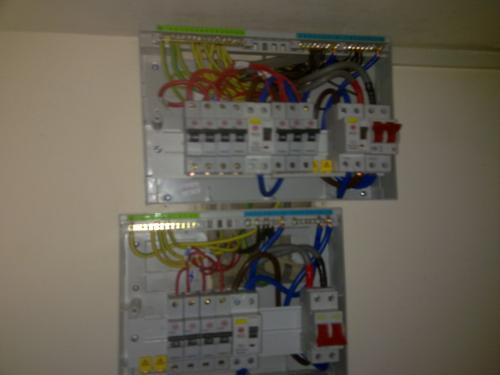 Install dual fuse board for off peak and on peak by OHM buidling and refurbishment services london