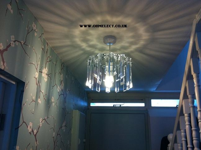 Install chandelier light london