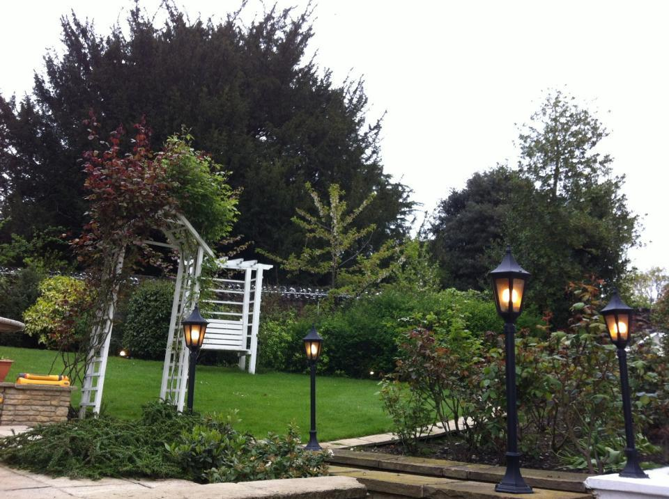 Install outdoor garden lights by OHM buidling and refurbishment services london